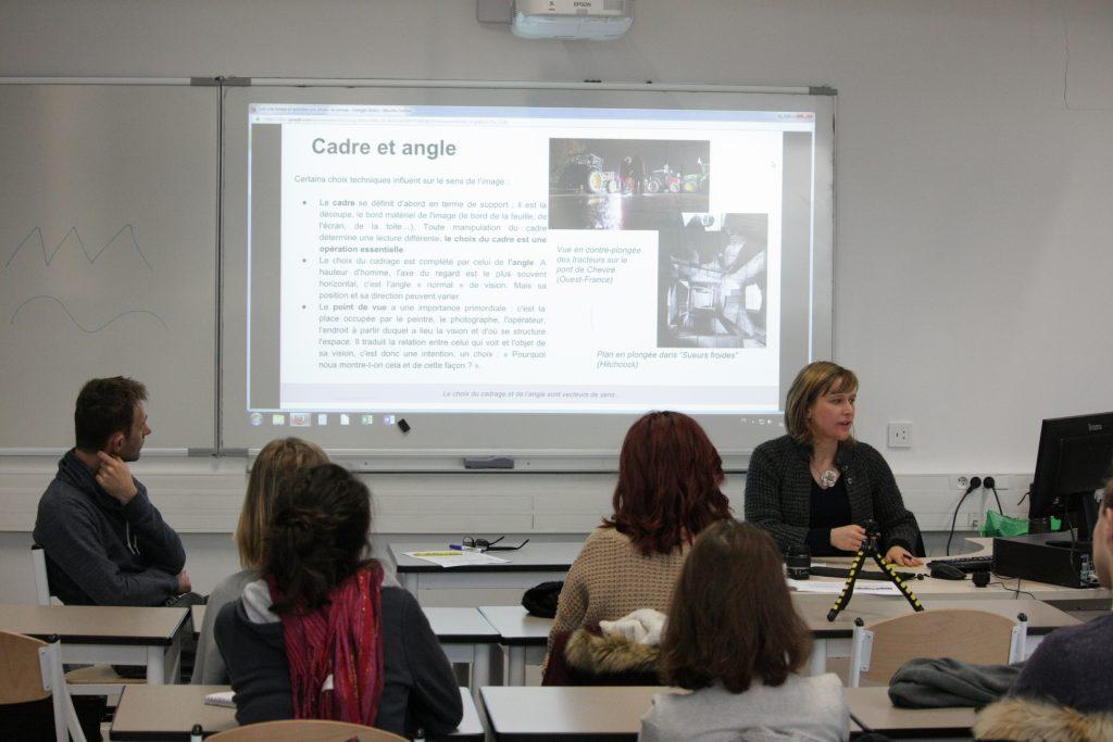 Education à l'image médias EMI photo classe-presse lycée NelsonMandela