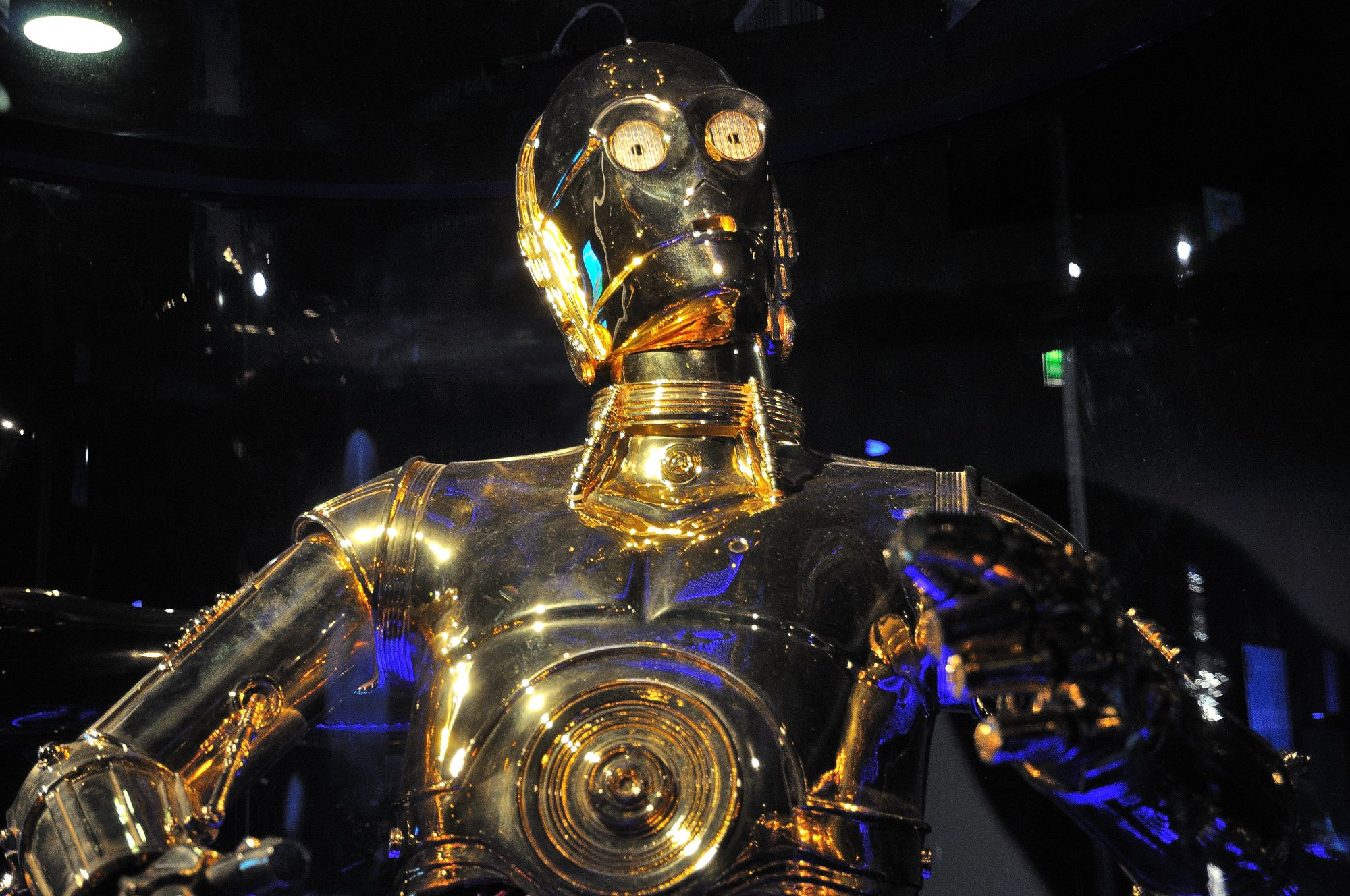 Le droide de protocole C3PO de la saga Star Wars