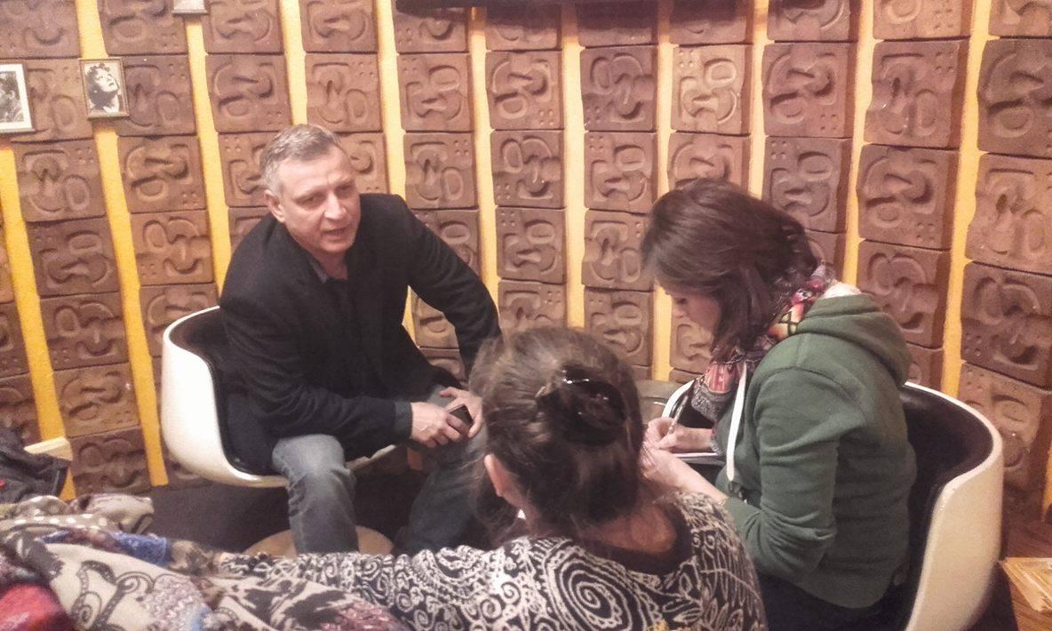 Rencontre avec Artem Temnikov au cinéma le Katorza.